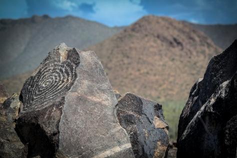 spiral petroglyphs